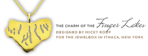 The Charm of the Finger Lakes - Designed by Mickey Roof for the Jewelbox in Ithaca, New York